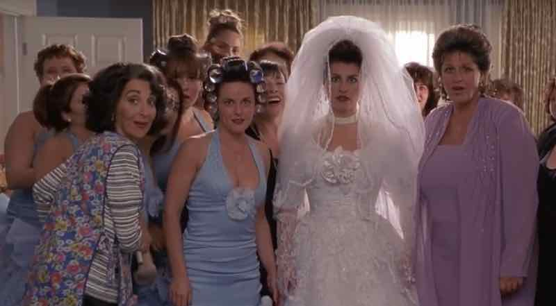 Ugly, ugly bridesmaid dresses in movies and TV